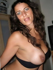 French experienced mistress is revealing her pussy