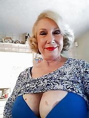 Busty granny cleavage heaven 4