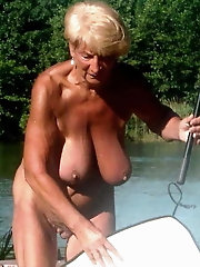 Tempting older mommies with ideal titties