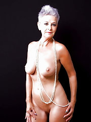 Blonde older cougars with dripping holes