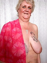 Bbw mix 1470 (Granny with tatoo)