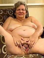 Immoral older whore gets naked