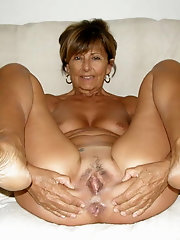 Ready for cock slut grannies spread