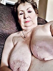 Flawless older females are masturbating