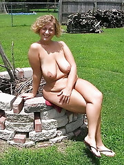 Sexy experienced M-I-L-Fs are posing naked